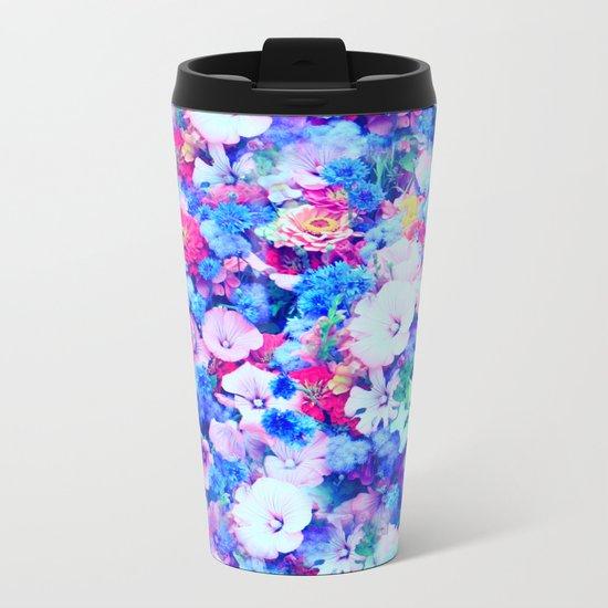 Flowers 1 Metal Travel Mug