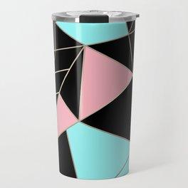 Abstraction . 5 geometric pattern Travel Mug