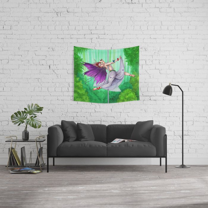 Pole Creatures - Fairy Wall Tapestry