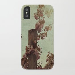Faded Blossoms iPhone Case