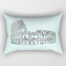 Roman Colosseum Rectangular Pillow