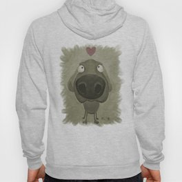 Weimaraner Love - Grey Hoody