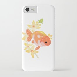 Ranchu and Forsythias iPhone Case