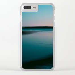 Summer of Love by the Sea III Clear iPhone Case