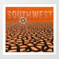 southwest Art Prints featuring Southwest by Phil Perkins