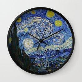 Starred Night Wall Clock