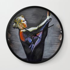 Rise From the Shadows Wall Clock