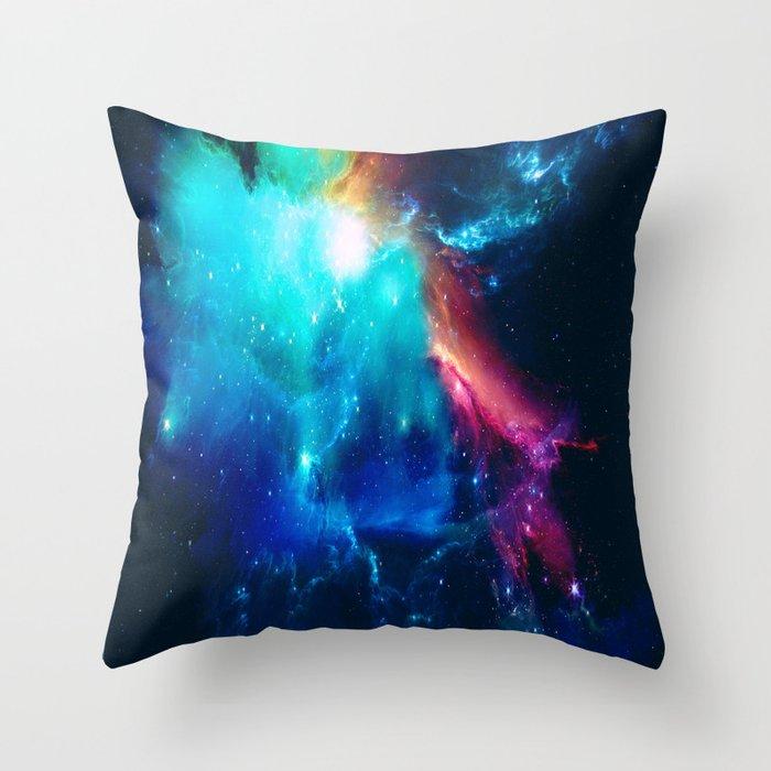 Birth of a Dream Throw Pillow