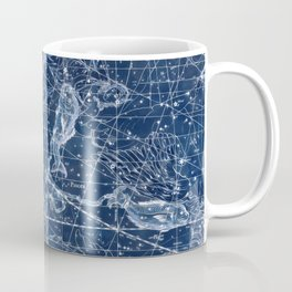 Pisces sky star map Coffee Mug