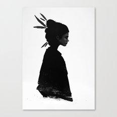 Never Never Canvas Print