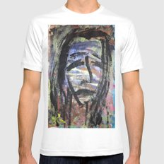 SELF PORTRAIT IN SORROW Mens Fitted Tee White SMALL