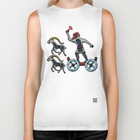 thor Biker Tanks featuring Thor by Thor Ewing