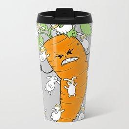 Bunny Brawl Metal Travel Mug