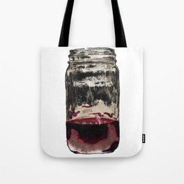 Mason Jar With Wine Tote Bag