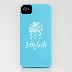 Jellyfish Blue iPhone (4, 4s) Slim Case