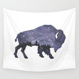 Starry Night Buffalo Wall Tapestry