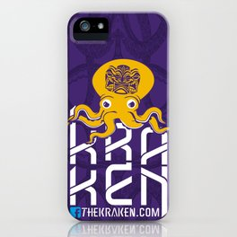 THEKRAKEN.COM iPhone Case