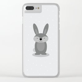 Ben Bunny Clear iPhone Case