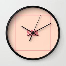 SAD Wall Clock