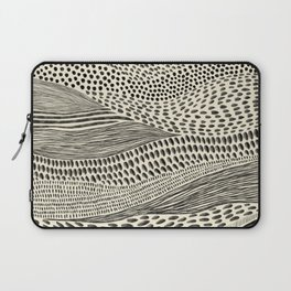 Hand Drawn Patterned Abstract II Laptop Sleeve