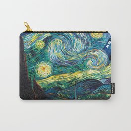 Tardis Art Starry Painting Night Carry-All Pouch