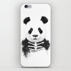 Zombie panda iPhone & iPod Skin