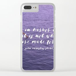 Travel Clear iPhone Case