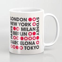 I Love This City Typography Coffee Mug