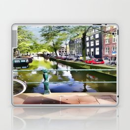 Amsterdam Canal Laptop & iPad Skin