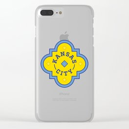 Kansas City Plaza Clear iPhone Case
