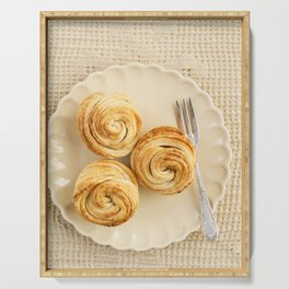 Fresh baked cruffins Serving Tray