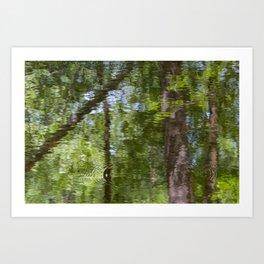 Reflecting Impressionism Art Print