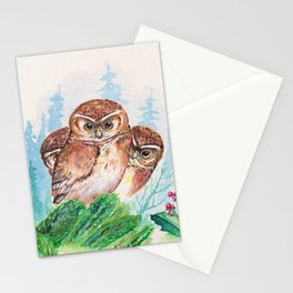 Owlets Stationery Cards
