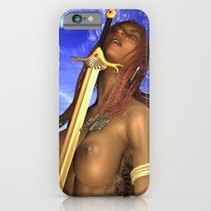 sword face girl Slim Case iPhone 6s