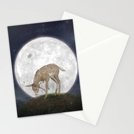 Night Deer Stationery Cards