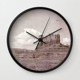 Old West Monument Valley Wall Clock