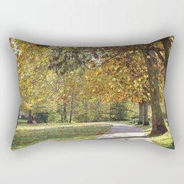 A Walk in the Park Rectangular Pillow