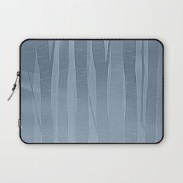 Woodland -  Minimal Blue Birch Forest Laptop Sleeve
