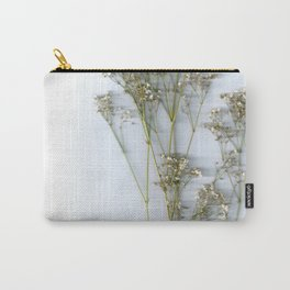 Dry Whites / Flowers Carry-All Pouch