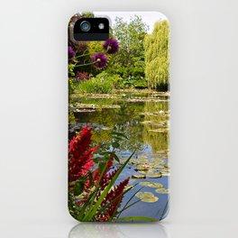 Summer Water Garden iPhone Case