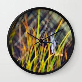 Damselfly Wall Clock