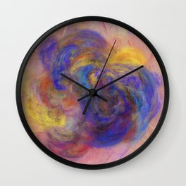 Love of Colours Wall Clock
