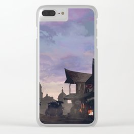 The Outskirts: Ball is Life Clear iPhone Case