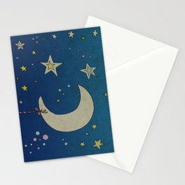 Moon Hanging Stationery Cards