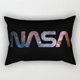 NASA font Rectangular Pillow