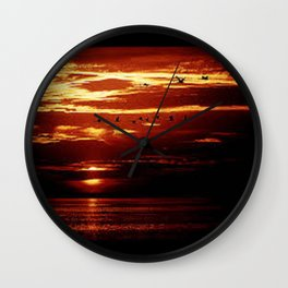 sun shine Wall Clock