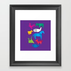 Origanimals Framed Art Print