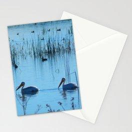 A Pleasant Swim Stationery Cards
