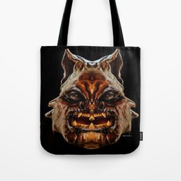 Halloween Mask 01218 Tote Bag