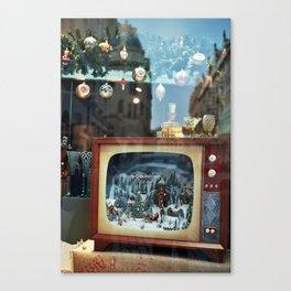 Prague in vitrine Canvas Print
